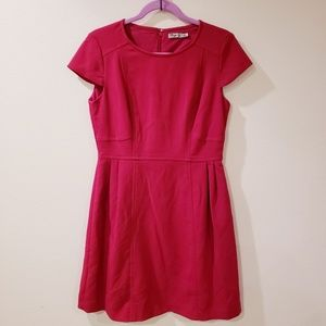 Eliza J. Berry/fuchsia midi dress